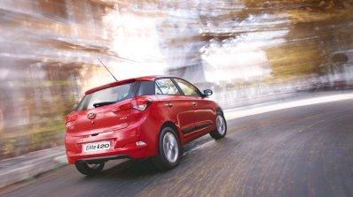 2016 Hyundai Elite i20 rear three quarter unveiled