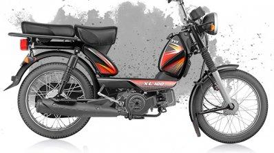 TVS XL 100 4-stroke black