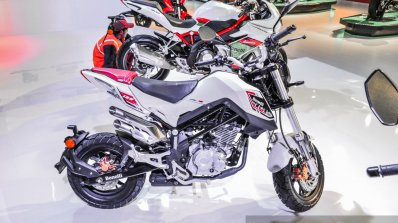 Benelli Tornado Naked T-135 at Auto Expo 2016