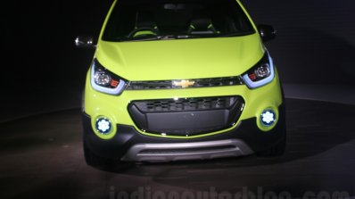 Chevrolet Beat Activ concept front close at the Auto Expo 2016