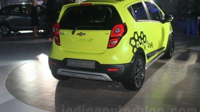 Chevrolet Beat Activ concept rear quarter at the Auto Expo 2016