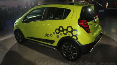 Chevrolet Beat Activ concept rear three quarter at the Auto Expo 2016