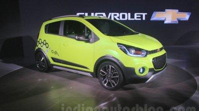 Chevrolet Beat Activ front three quarter at 2016 Auto Expo