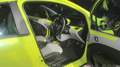 Chevrolet Beat Activ interior at 2016 Auto Expo