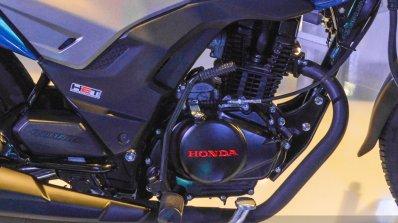 Honda CB Shine SP engine at Auto Expo 2016