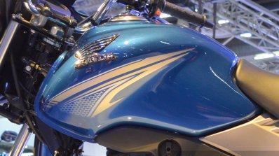 Honda CB Shine SP graphics at Auto Expo 2016