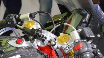 TVS Akula 310 Racing Concept clip-on handlebars at Auto Expo 2016