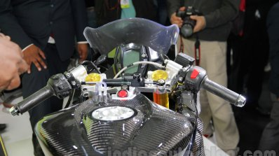 TVS Akula 310 Racing Concept handlebar at Auto Expo 2016