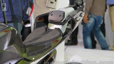 TVS Akula 310 Racing Concept race-spec seats at Auto Expo 2016