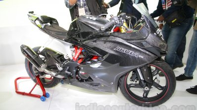 TVS Akula 310 Racing Concept side at Auto Expo 2016
