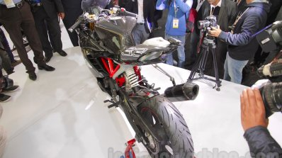 TVS Akula 310 Racing Concept tail piece at Auto Expo 2016
