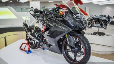 TVS Akula 310 carbon fibre fairing at Auto Expo 2016
