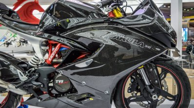 TVS Akula 310 fairing at Auto Expo 2016