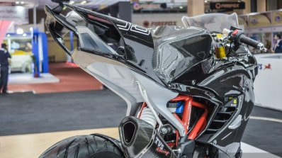 TVS Akula 310 tail fairing at Auto Expo 2016