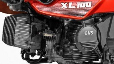 TVS XL 100 4-stroke engine
