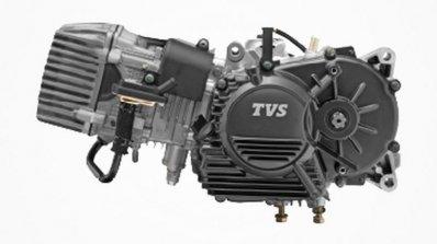 TVS XL 100 engine