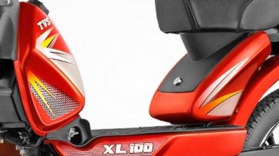 TVS XL 100 fuel control knob