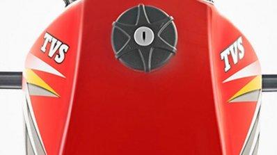 TVS XL 100 fuel tank cap