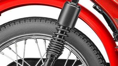 TVS XL 100 rear shock absorber