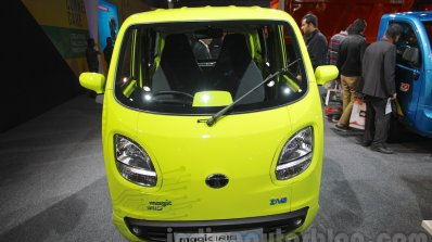 Tata Magic Iris Ziva Fuel Cell Vehicle Auto Expo 2016 Live