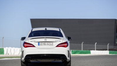 2016 Mercedes AMG CLA 45 facelift rear unveiled