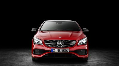 2016 Mercedes CLA facelift front unveiled