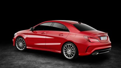2016 Mercedes CLA facelift rear three quarter unveiled