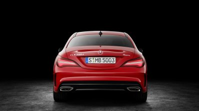 2016 Mercedes CLA facelift rear unveiled