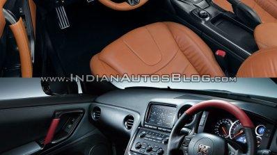2017 Nissan GT-R vs 2015 Nissan GT-R interior