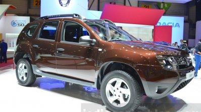Dacia Duster Essential at the 2016 Geneva Motor Show