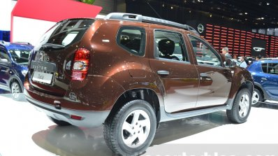 Dacia Duster Essential taillamp at the 2016 Geneva Motor Show