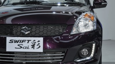 2017 Suzuki Swift spotted with clear-lens tail lamps