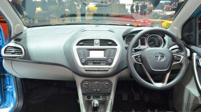Tata Tiago dashboard at Geneva Motor Show 2016