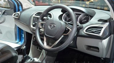 Tata Tiago interior at Geneva Motor Show 2016