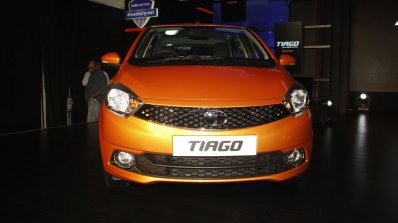 Tata Tiago headlamp and grille launched