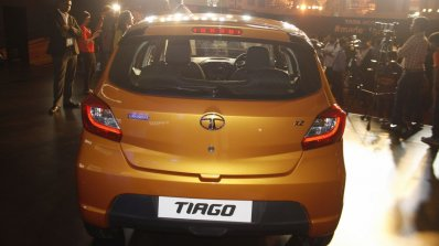 Tata Tiago rear launched