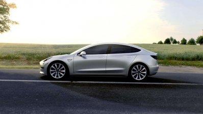 Tesla Model 3 official image left side