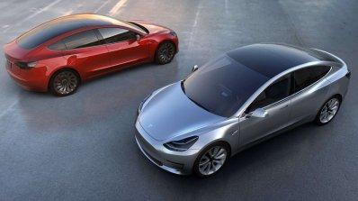 Tesla Model 3 official image