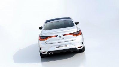 2016 Renault Megane Sedan rear studio image