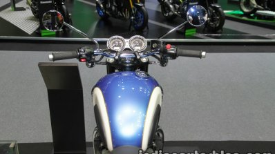 New Triumph T100 handlebar at Thai Motor Expo