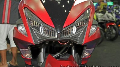 New Yamaha Aerox155 headlamp at Thai Motor Expo