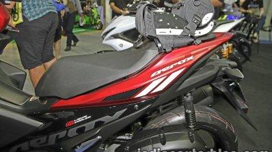 New Yamaha Aerox155 seat at Thai Motor Expo