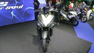 Yamaha Aerox155 front at Thai Motor Expo