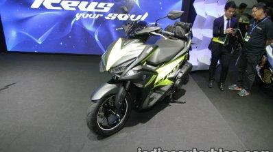 Yamaha Aerox155 front three quarter at Thai Motor Expo