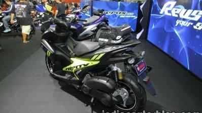 Yamaha Aerox155 rear three quarter at Thai Motor Expo