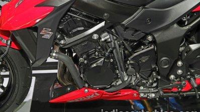 Suzuki GSX-S750 engine at Thai Motor Expo