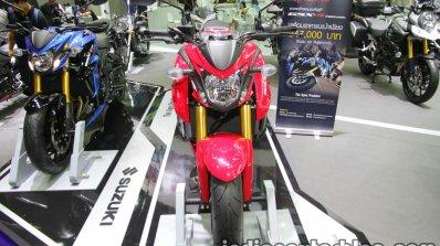 Suzuki GSX-S750 front at Thai Motor Expo