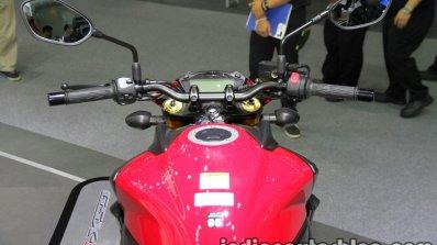 Suzuki GSX-S750 handlebar at Thai Motor Expo