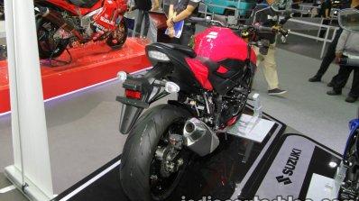 Suzuki GSX-S750 rear three quarter at Thai Motor Expo