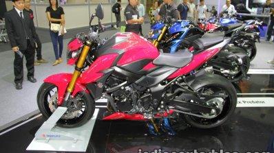 Suzuki GSX-S750 side at Thai Motor Expo